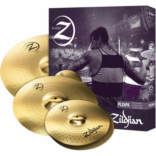 """ZILDJIAN Zildjian Planet Z Complete Pack (14""""Pr 16"""" 20"""")"""