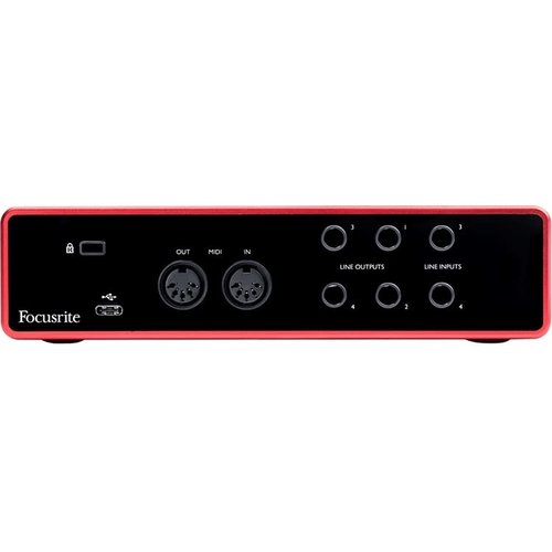 Focusrite Focusrite  4 In /4 Out USB Recording Interface