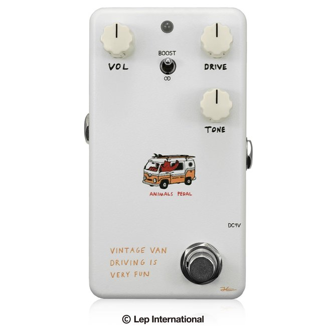 Animals Pedal Vintage Van Driving Is Very Fun Overdrive V2