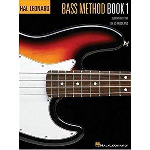 Hal Leonard Bass Method Book 1 - 2nd Edition by Ed Friedland