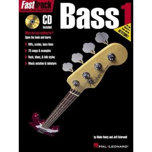 Hal Leonard Fast Track Bass 1 with Online Audio Access - by Blake Neely & Jeff Schroedl