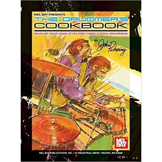 Drummer's Cookbook by John Pickering with Online Audio