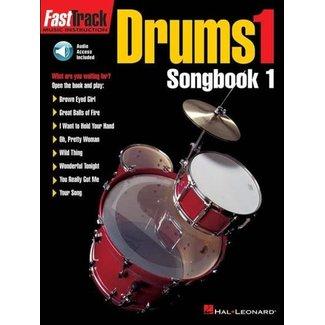 Hal Leonard FastTrack Drums 1 Songbook 1 with CD Hal Leonard