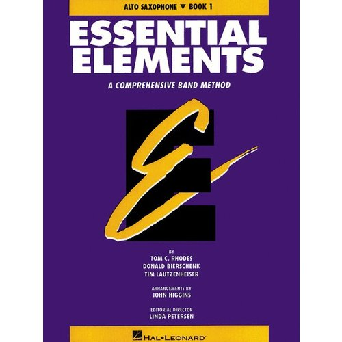 Hal Leonard Essential Elements - Eb Alto Sax Book 1