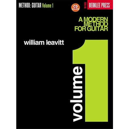 Hal Leonard A Modern Method for Guitar - Volume 1 with Cd  by William Leavitt, Berklee Press
