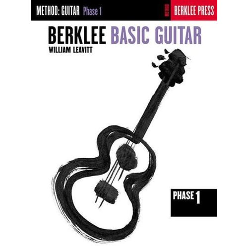 Hal Leonard Berklee Basic Guitar Phase 1 William Leavitt Berklee Press
