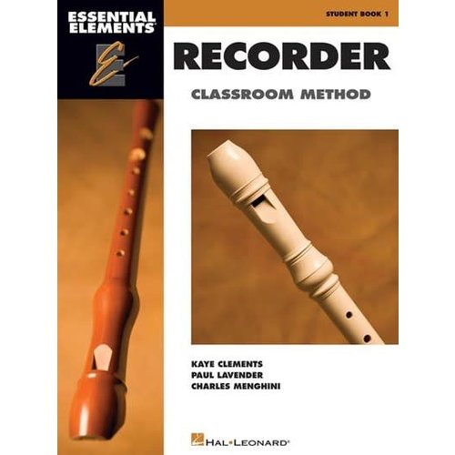 Hal Leonard Essential Elements for Recorder Classroom Method – Student Book 1
