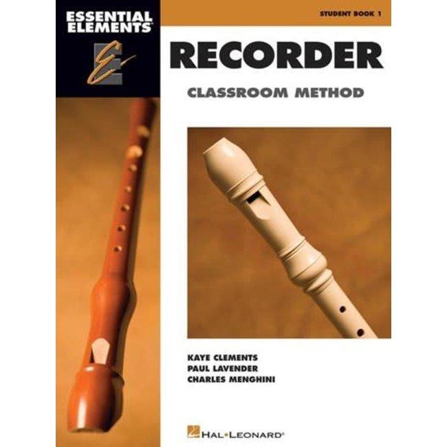 Hal Leonard Essential Elements for Recorder Classroom Method – Student Book 1