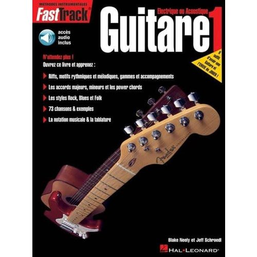 Hal Leonard FastTrack Guitare 1