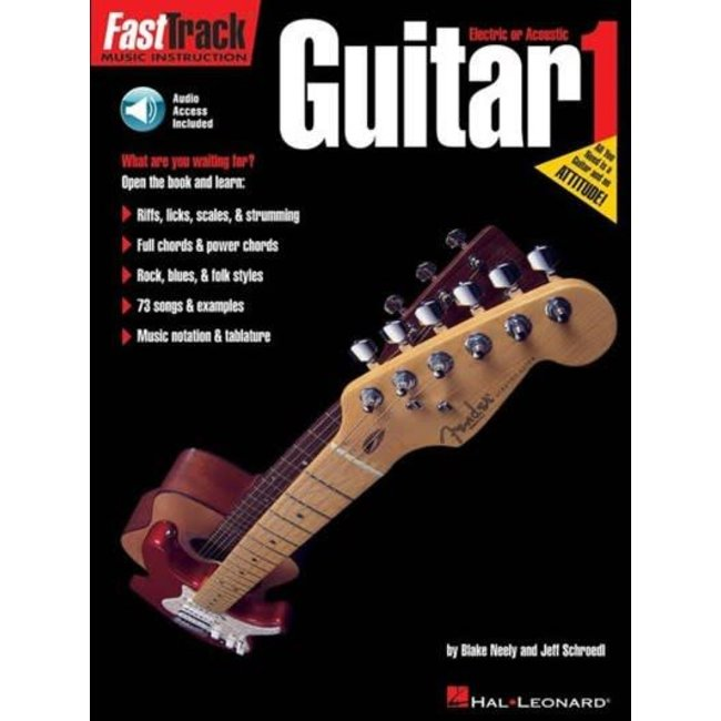 Hal Leonard FastTrack Guitar 1 by Blake Neely and Jeff Schroedl