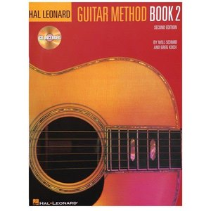 Hal Leonard Hal Leonard Guitar Method Book 2 with CD by Will Schmid and Greg Koch