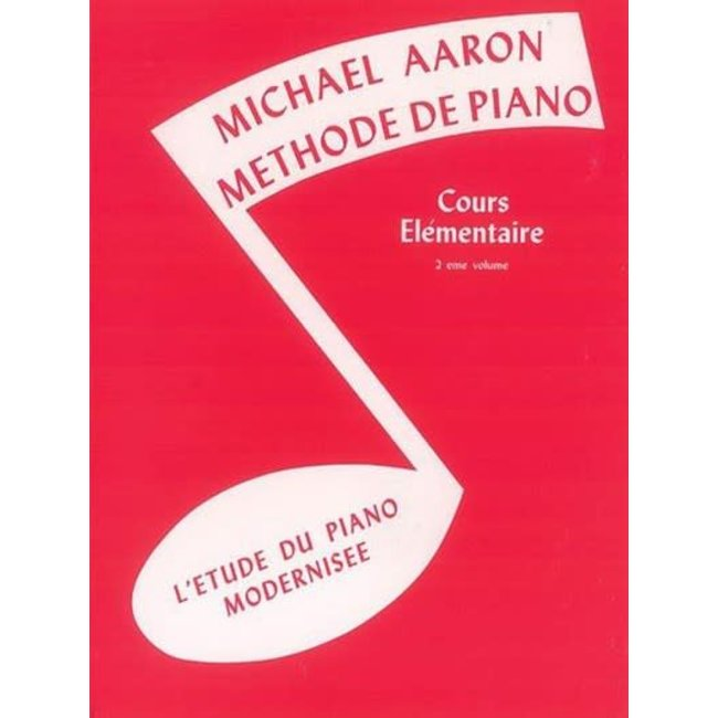 Michael Aaron Méthode de Piano 2e volume