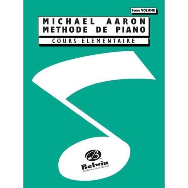Michael Aaron Méthode de Piano 3e volume