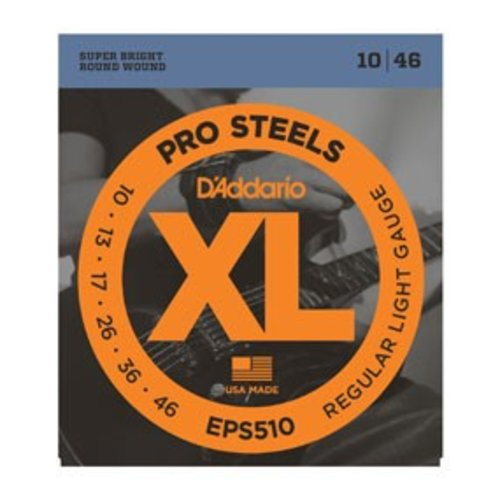 D'Addario XL ProSteels Round Wound