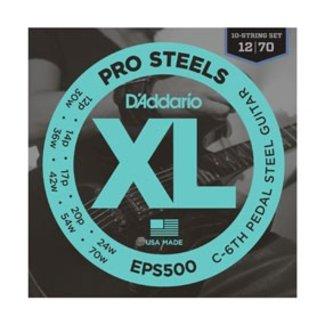 D'Addario XL ProSteels Round Wound