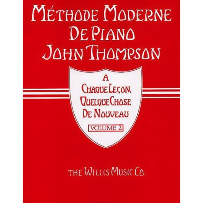 Hal Leonard John Thompson Méthode Moderne de Piano Volume 1