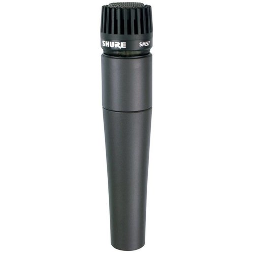 Shure SM57-LC Handheld Dynamic Microphone - Cardioid