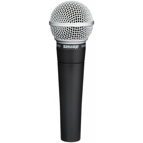 Shure SM58-LC Handheld Dynamic Microphone - Cardioid