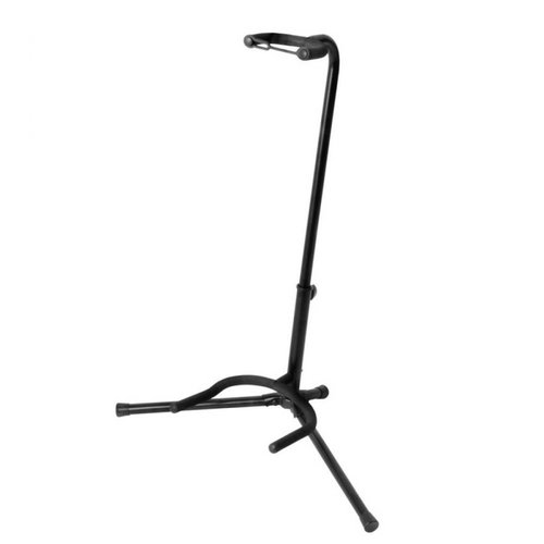 On-Stage Stands XCG-4 Single Smart Yoke Guitar Stand -H: 19.25-24in -Tripod -Black