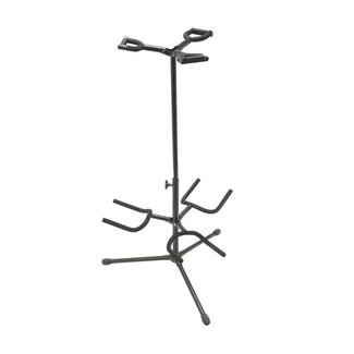 On-Stage Stands GS7321BT Triple Guitar Stand -H: 17-32in -Folding Yoke