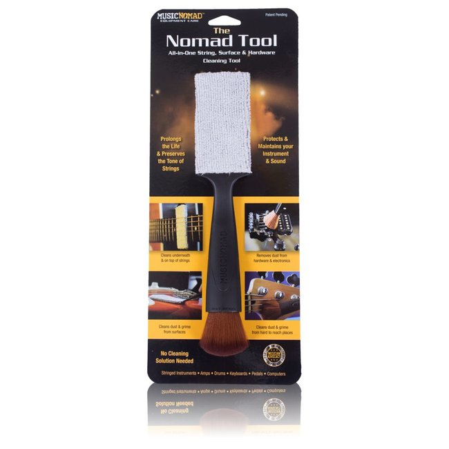 Music Nomad NOMAD-TOOL All-in-One Cleaning Tool for String/Surface/Hardware