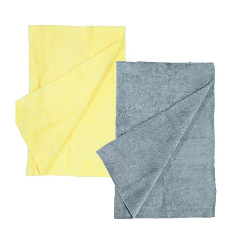 Music Nomad Drum Detailing Towels Edgeless Microfiber - 2 Pack