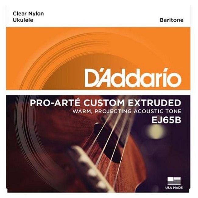 Baritone Ukulele Strings Clear Nylon