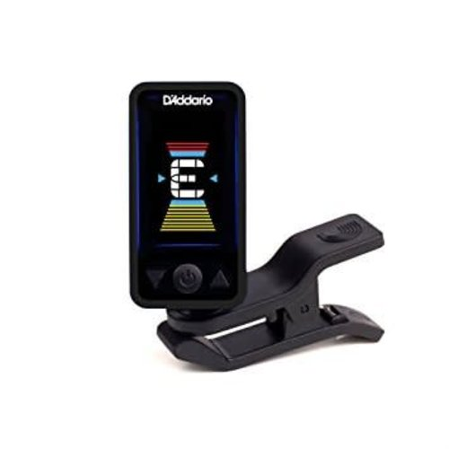 D'Addario Eclipse Clip-On Headstock Tuner - Black