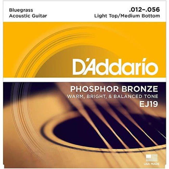 Phosphor Bronze Acoustic Guitar Strings Bluegrass 0.12-0.56