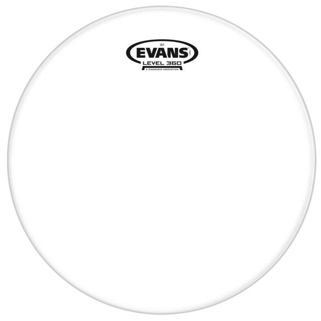 """Evans 10"""" G1 Head  Clear"""