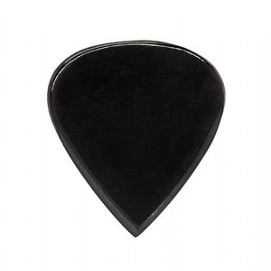 Timber Tones JAZ-BLH Jazz Tones Black Horn Guitar Pick