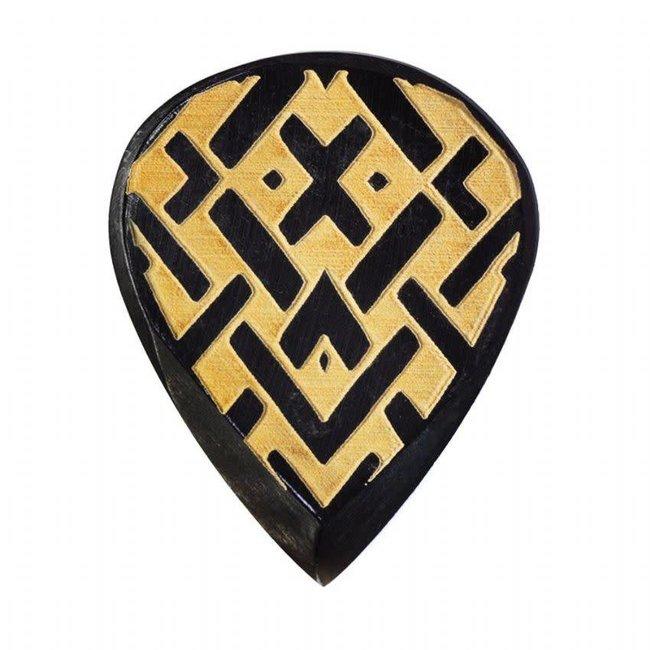 Timber Tones TRIB-CEL Tribal Tones Celtic Guitar Pick