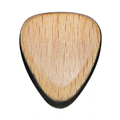 Timber Tones TRI-BEW Tri Tones Beechwood & African Ebony Guitar Pick