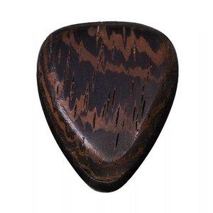 Timber Tones TRI-WEN Tri Tones Wenge & African Ebony Guitar Pick