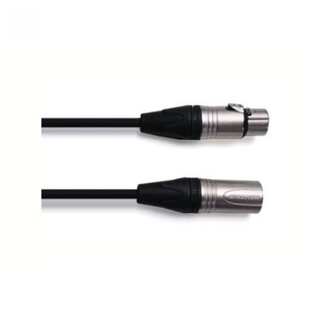 Digiflex 10' NK2/6 Microphone Cable - XLRM to XLRF Connectors