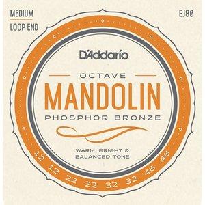 D'Addario EJ80 Phosphor Bronze Octave Mandolin Strings Medium 0.12-0.46