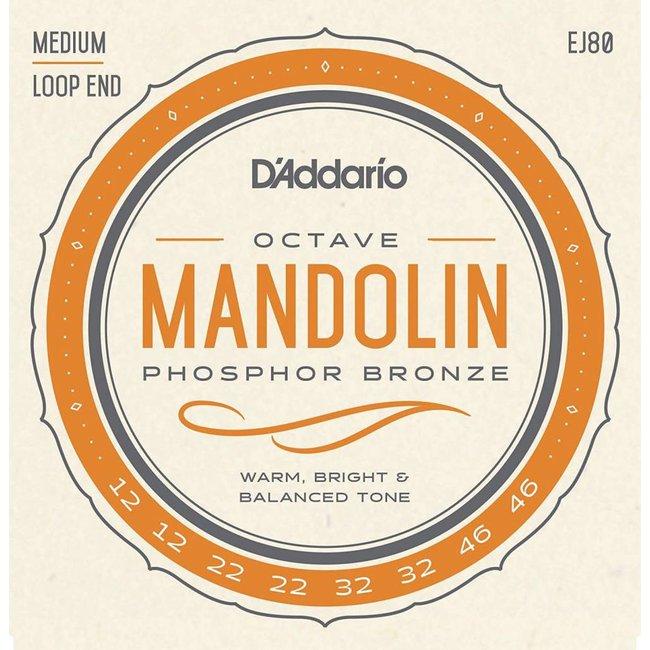 Phosphor Bronze Octave Mandolin Strings Medium 0.12-0.46