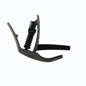 D'Addario PW-CP-10 NS Artist Capo Black For Electric & Acoustic Guitars
