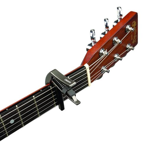 D'Addario NS Artist Capo Black For Electric & Acoustic Guitars