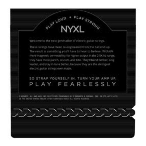 D'Addario NYXL Nickel Wound Super Light 09-42