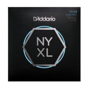 D'Addario NYXL Nickel Wound Pedal Steel NYXL1138PS Nickel Wound Pedal Steel Regular Light 11-38