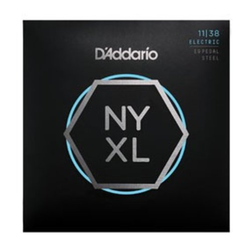 D'Addario NYXL Nickel Wound Pedal Steel Regular Light 11-38