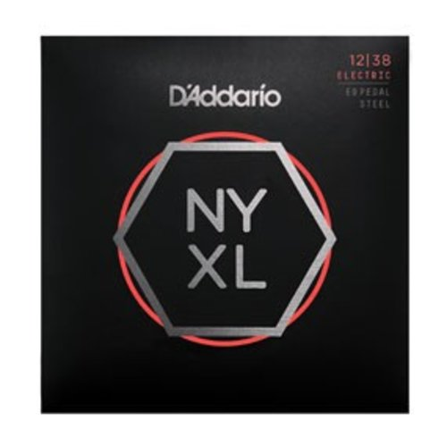 D'Addario NYXL Nickel Wound Pedal Steel Custom Medium 12-38