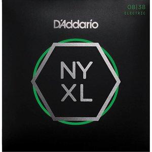 D'Addario NYXL0838 - NYXL Nickel Plated Wound Extra Super Light 08-38