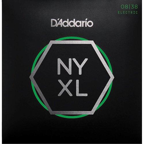 D'Addario NYXL Nickel Plated Wound Extra Super Light 08-38