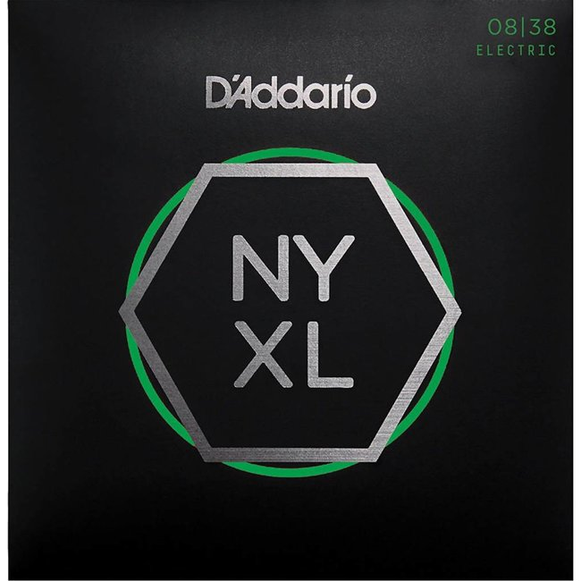 NYXL Nickel Plated Wound Extra Super Light 08-38