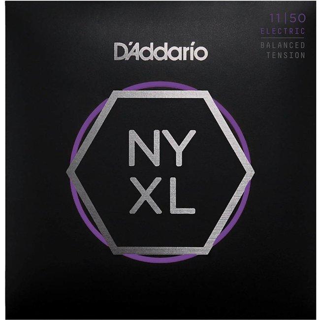 NYXL Nickel Wound Electric Guitar Strings Balanced Tension 11-50