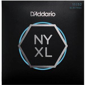 D'Addario NYXL1152 - NYXL Electric Guitar Strings Nickel Wound Medium Top / Heavy Bottom 11-52