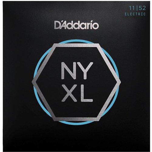 D'Addario NYXL Nickel Wound Electric Guitar Strings Medium Top / Heavy Bottom 11-52