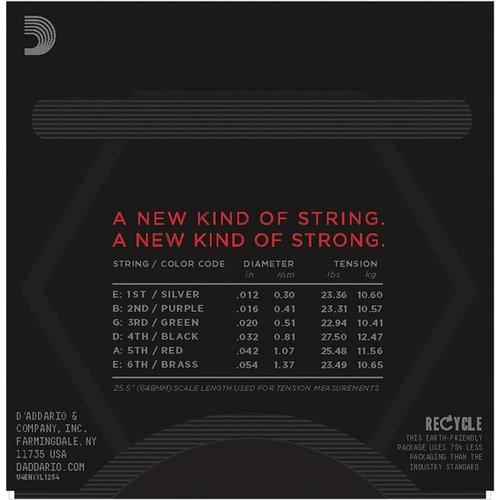D'Addario NYXL Nickel Wound Electric Guitar Strings Heavy 12-54